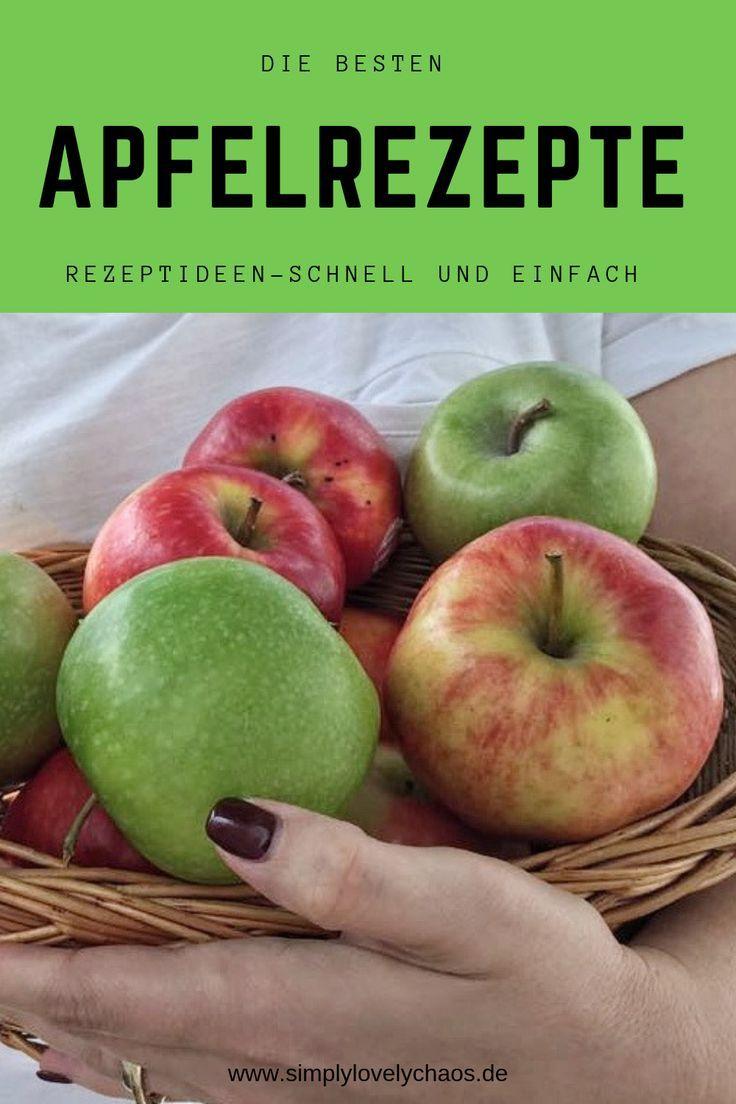 7 einfache Ideen was man aus Äpfeln alles machen kann! - SIMPLYLOVELYCHAOS