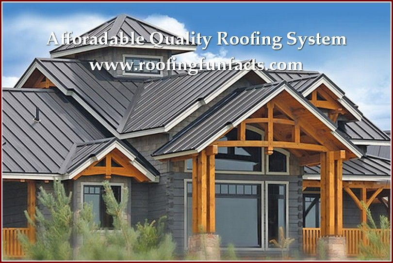 Fun Facts Of Roofing You Ought To Know More Info Could Be Found At The Image Url Roofinstallation Metal Building Homes Wood Siding House House Roof