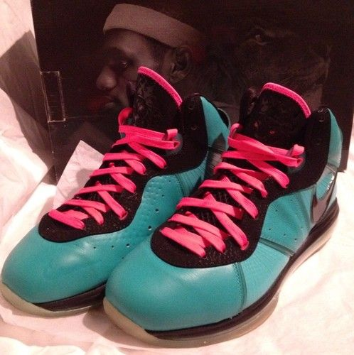 online store a9c9d 23d12 Used Nike Lebron 8 SOUTH BEACH sz 10.5 100% Authentic