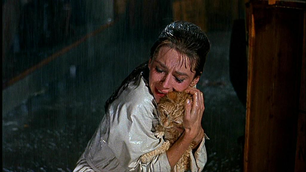 """Cat"" was the last line in the movie Breakfast at Tiffany's"