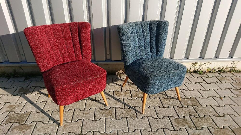 2 Original Cocktail Sessel 50er Jahre Nahe Hamburg Ebay In 2020 Sessel Vintage Sessel 50er Jahre