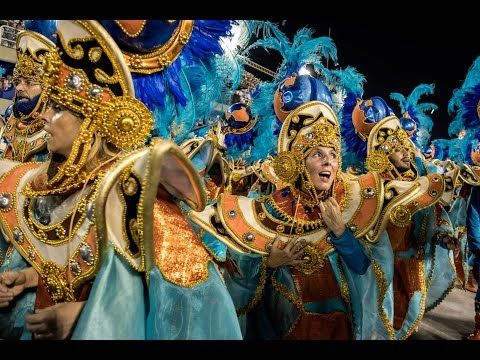 In Rio, The Samba Parade Goes On Despite A Wardrobe Malfunction : Parallels : NPR