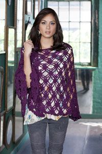 Bohemian Shawl pattern from Caron
