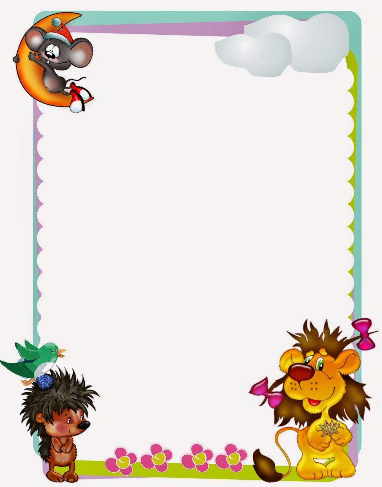 Caratulas niños y niñas kinder | Imprimibles | Pinterest | Marcos ...