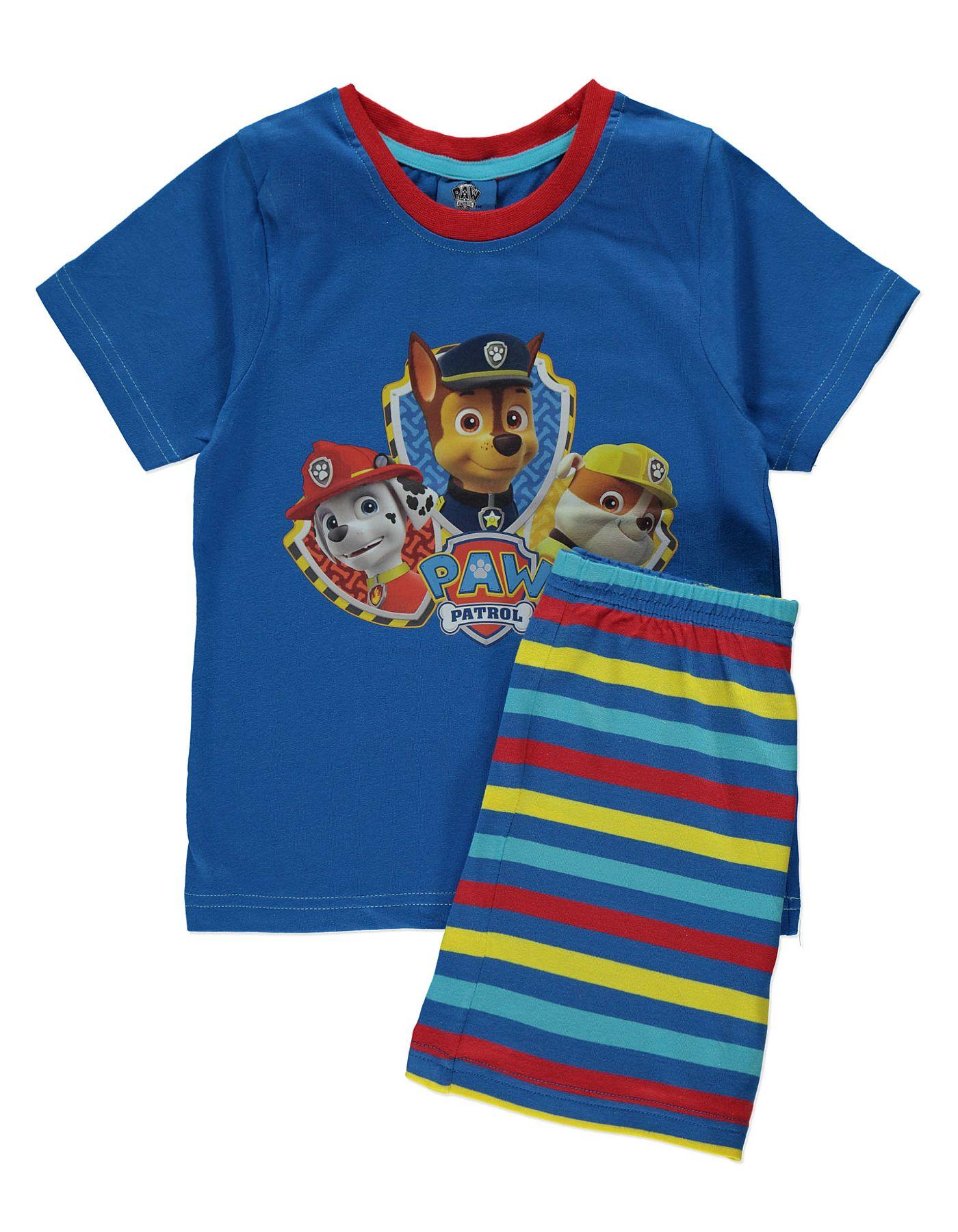 Black t shirt asda - Paw Patrol Pyjama Set Kids George At Asda