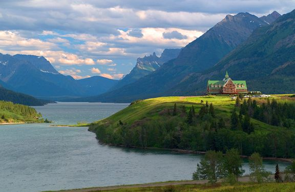 Prince Of Wales Hotel Waterton Lakes National Park Canada One The Best