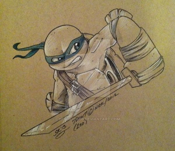 TMNT-Leonardo by BenjiLion09 on DeviantArt