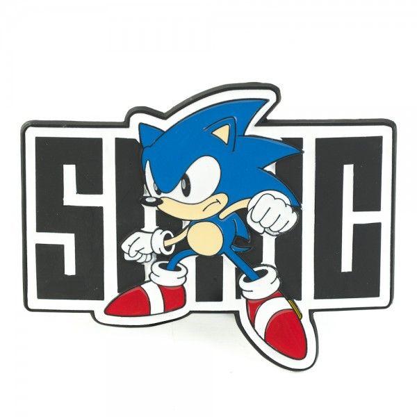 Sonic The Hedgehog Belt Buckle Sonic Stance And Name In 2020 Classic Sonic Sonic Sonic The Hedgehog