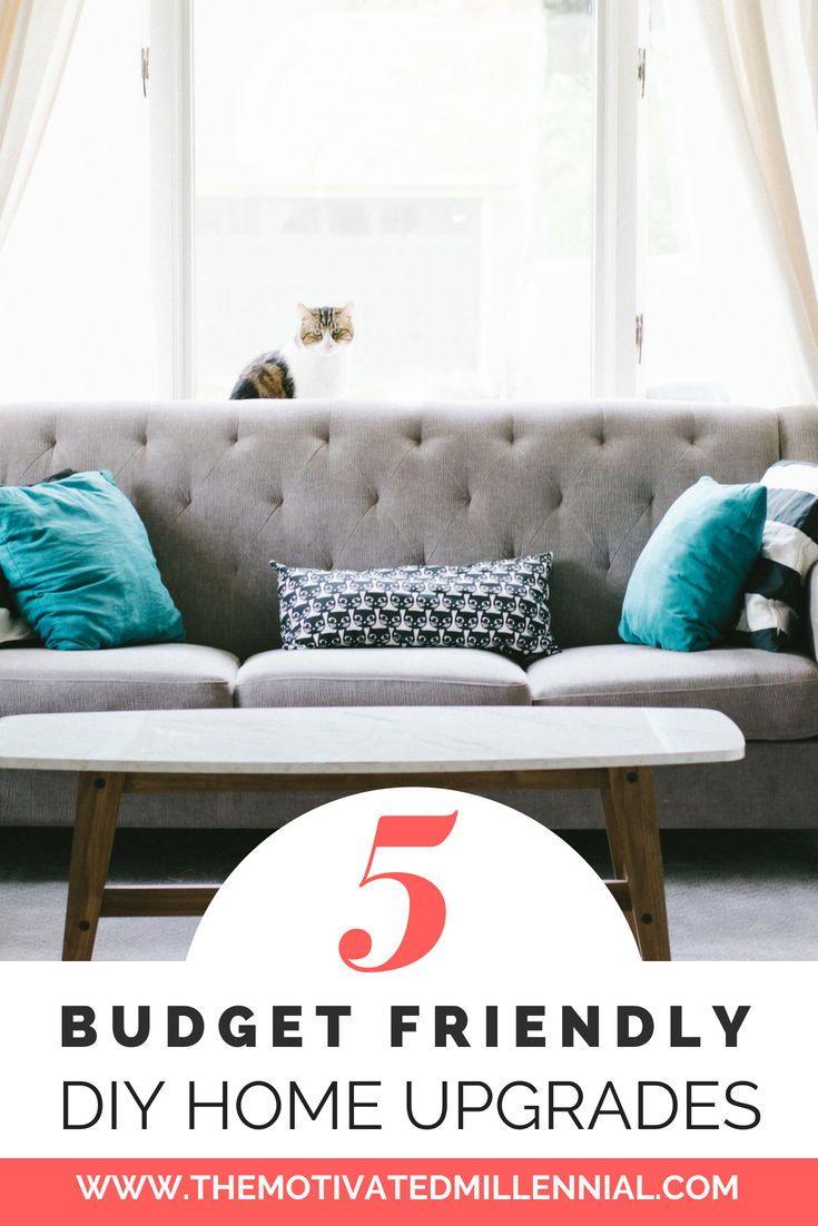 Budget Friendly Diy Home Decorating Ideas Tutorials 2017: 5 Budget Friendly DIY Home Upgrades