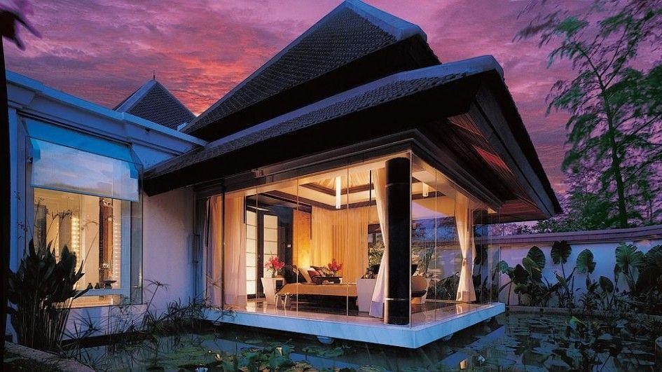 modern gazebo design floating in the pool My Dream House
