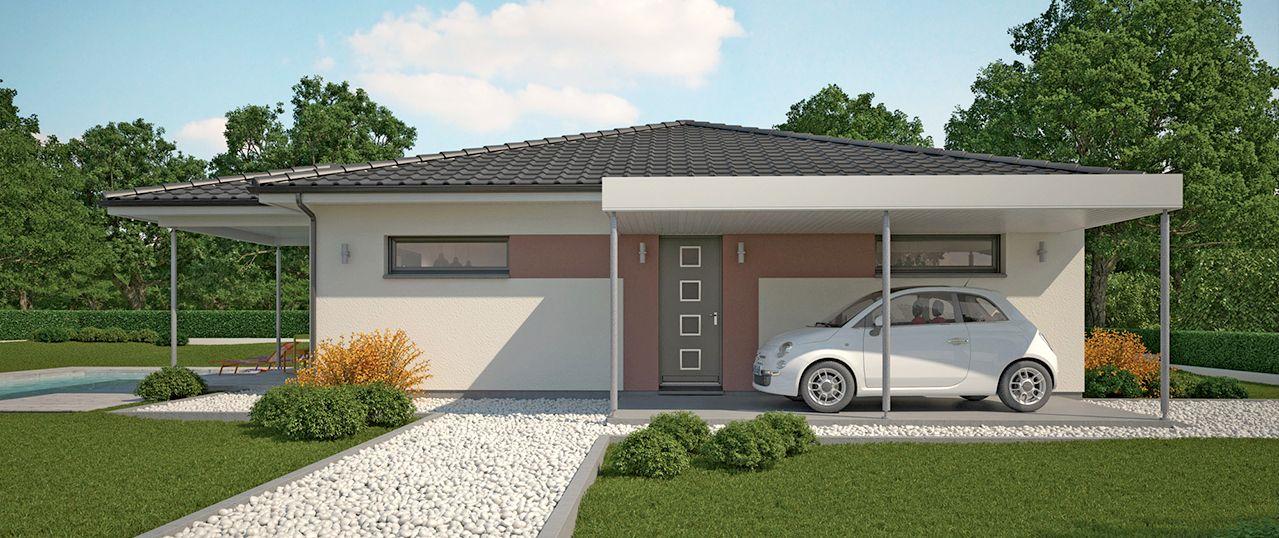 Couleurs Villa vous propose la Villa Dona, moderne, contemporaine - modele plan maison plain pied gratuit