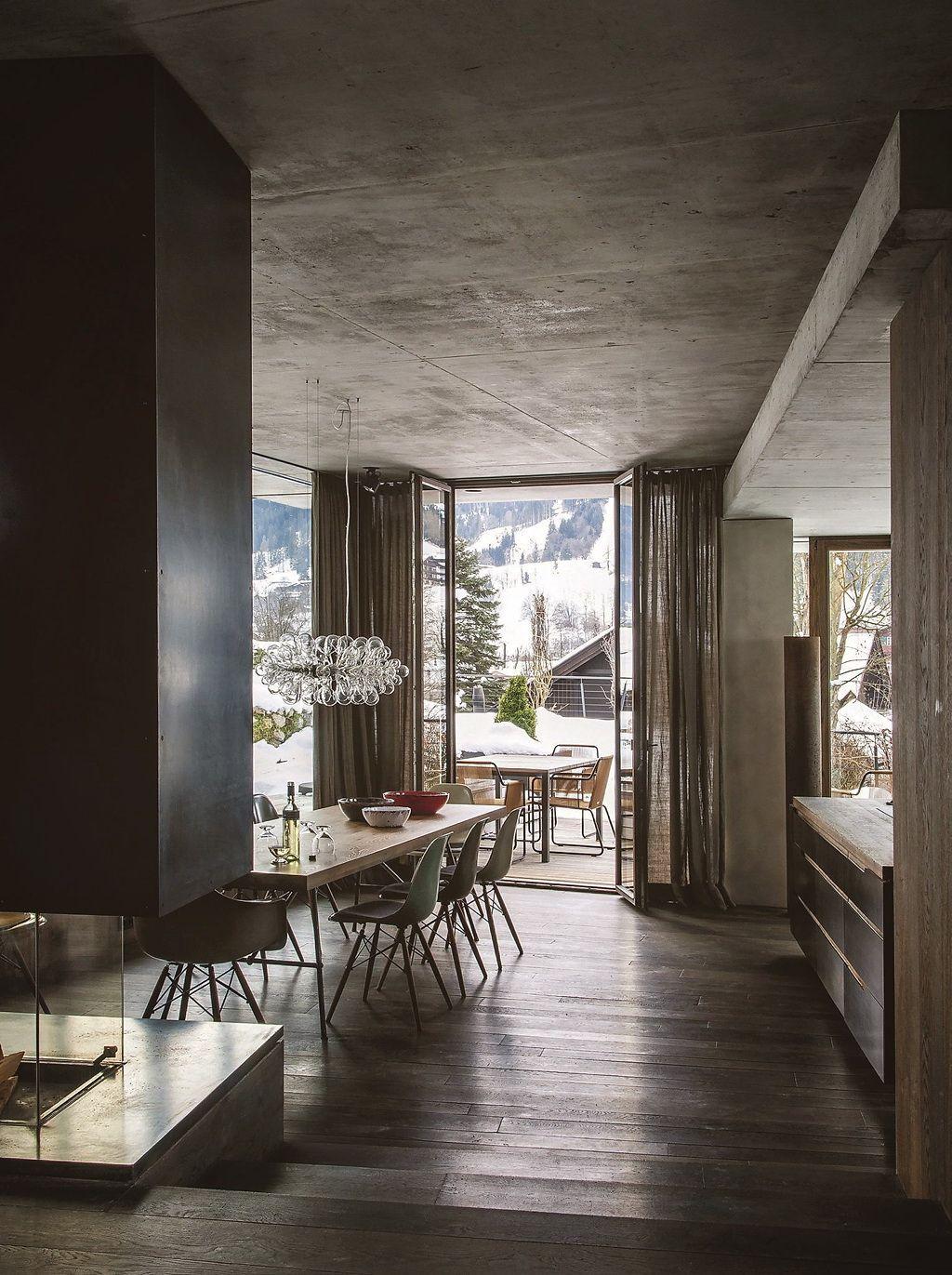 COTEMAISON-Un-chalet-moderne-2 | МЛ | Pinterest