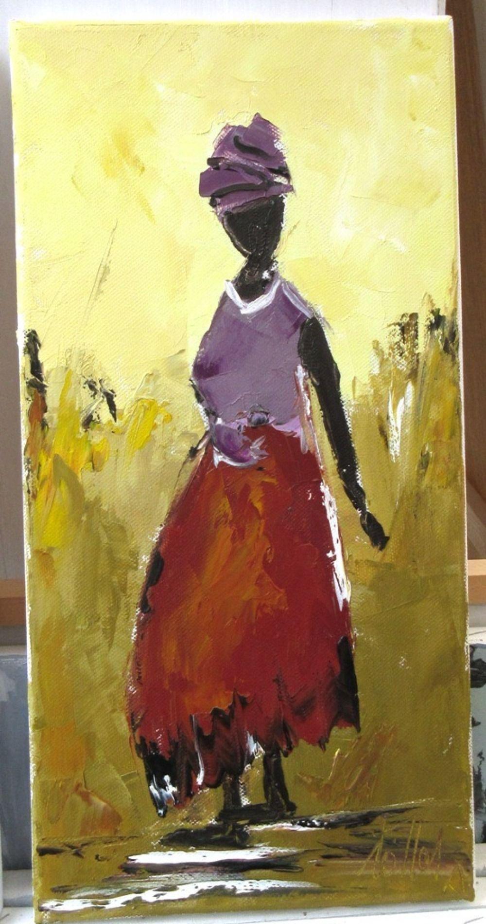 Soleil Dans Le Coeur 2 Peinture A L Huile Au Couteau Sur Chassis