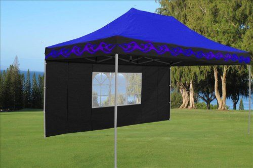 10x15 Pop Up 4 Wall Canopy Party Tent Gazebo Ez Blue Flame E Model By Delta Canopies Check Out This Great Product This Is An Party Tent Gazebo Hiking Tent