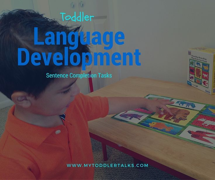 Cloze Procedures:How Sentence Completion Tasks Can Get Your Toddler to Talk!