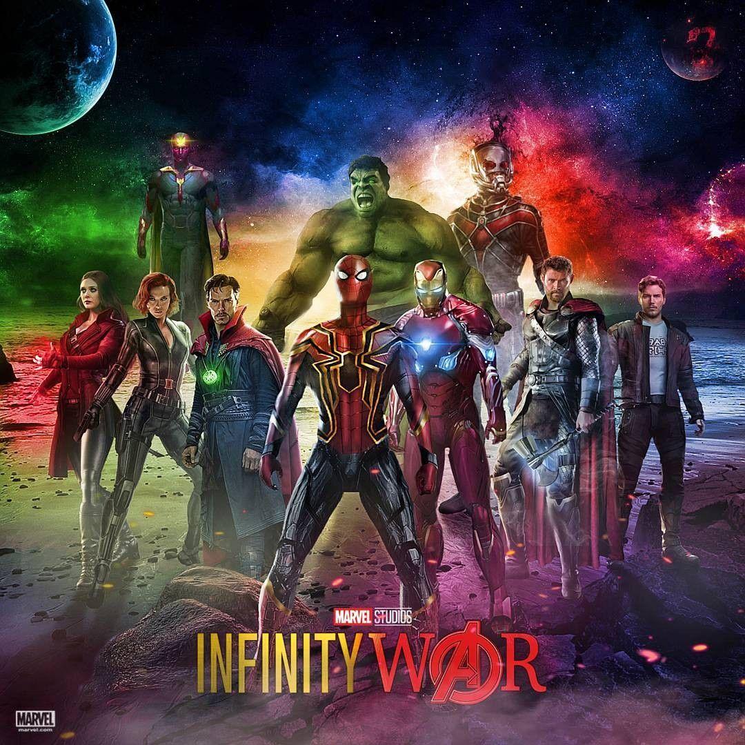 Resultado de imagem para avengers infinity war fan poster