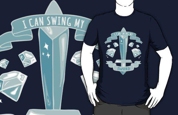 Diamond sword t shirt httptshirtonomyminecraft t shirts 17 minecraft t shirts youll really dig urtaz Image collections