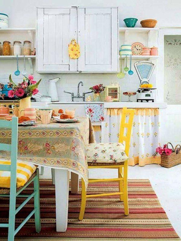 Vintage trucs et déco mignon- 101 idées Country houses, Kitchens