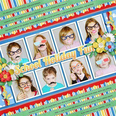 Escuela de unas divertidas vacaciones - El Club de CK - La comunidad en línea y el Club de Noticias de la Creación de Recuerdos