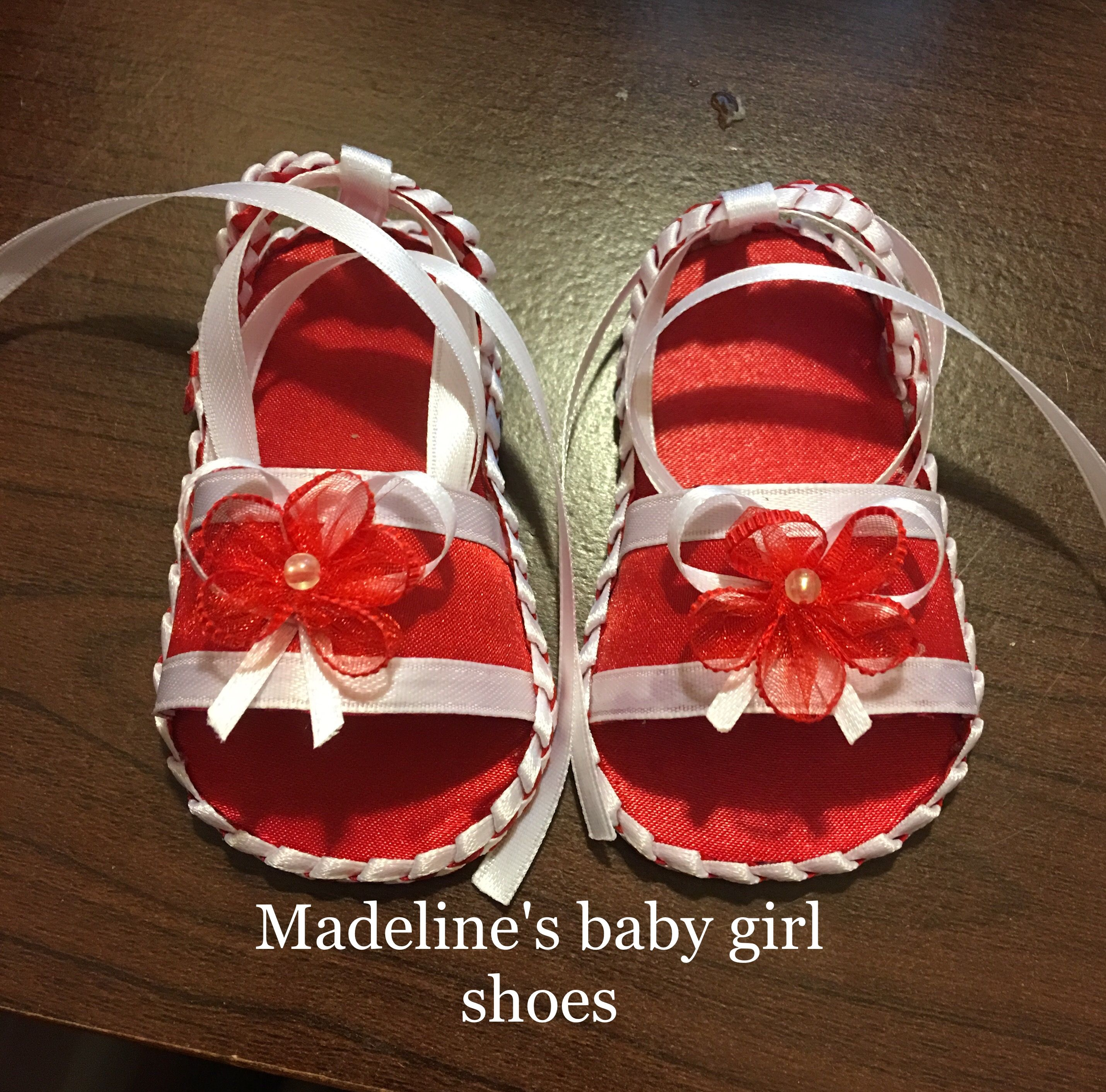 Handmade baby shoes and hair accessories size 0 3 months $15