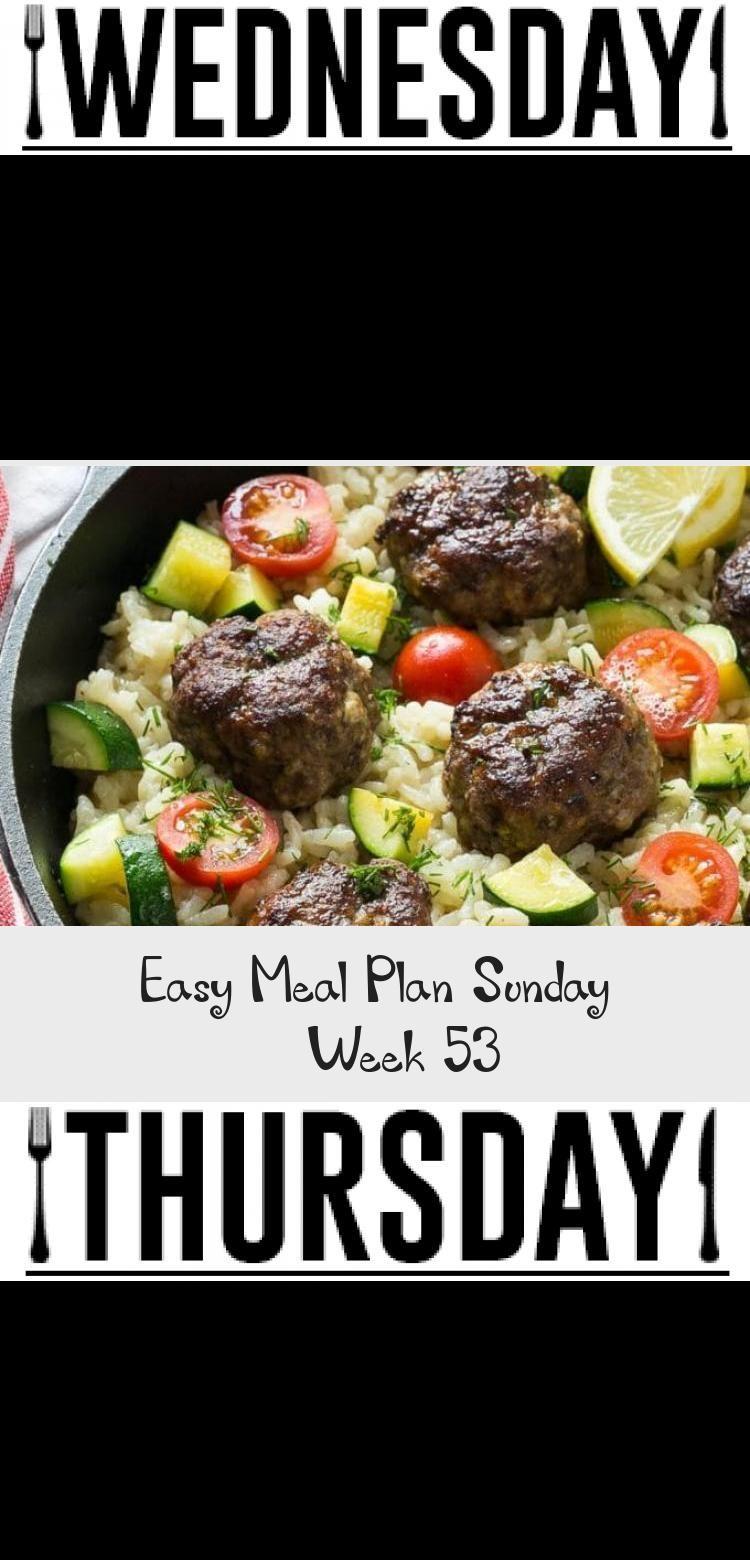 Photo of Easy Meal Plan Sonntag – Woche 53 #PinataKuchenRegenbogen #PinataKuchenRezept #P…