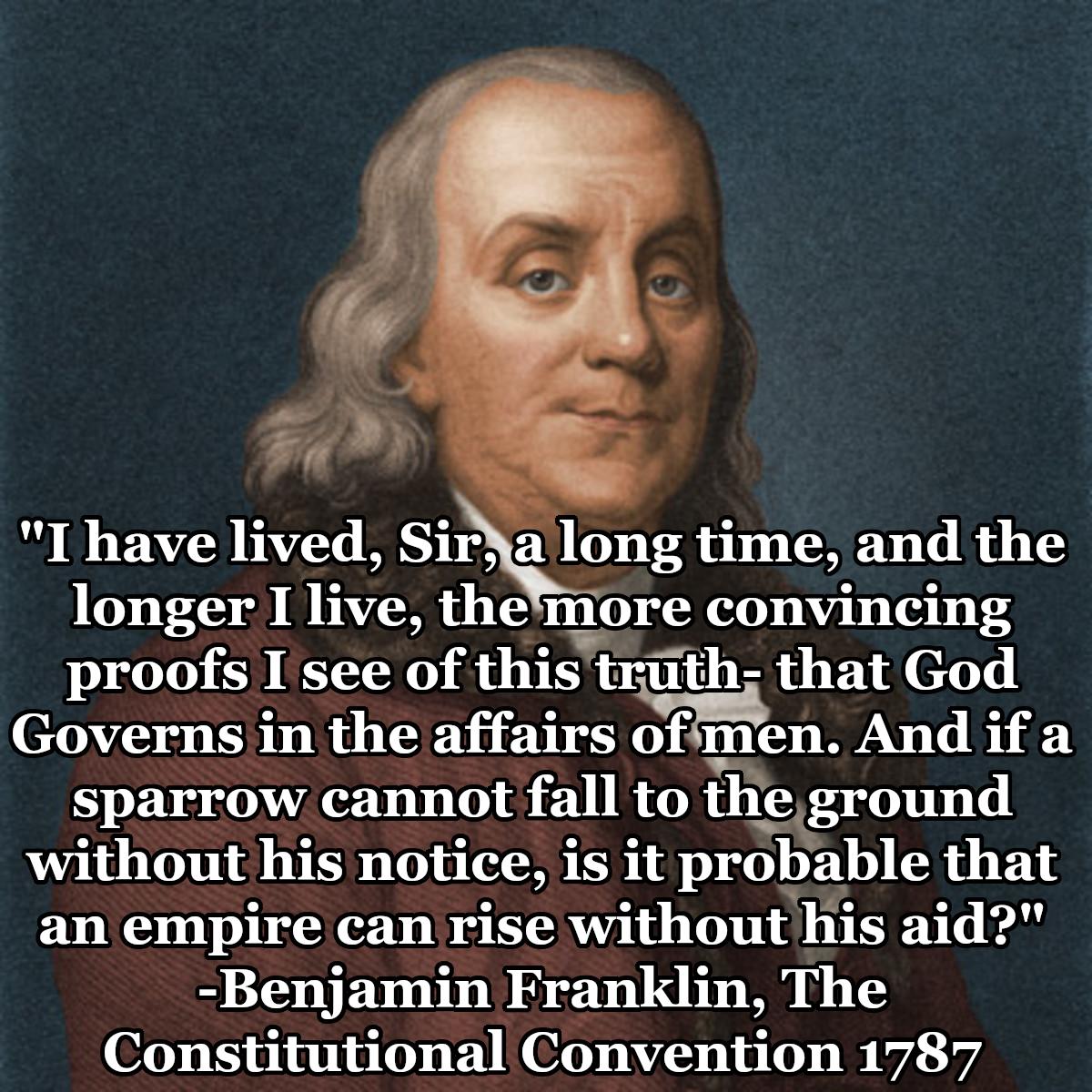 Benjamin Franklin Constitutional Convention Benjamin Franklin Constitution