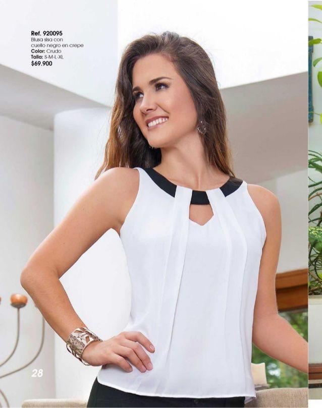 Marie Germinal | blusas femeninas | Pinterest | Camisa feminina ...