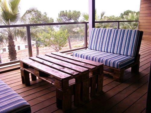 Muebles de palets en sevilla muebles ecologicos de dise o - Muebles exterior palets ...
