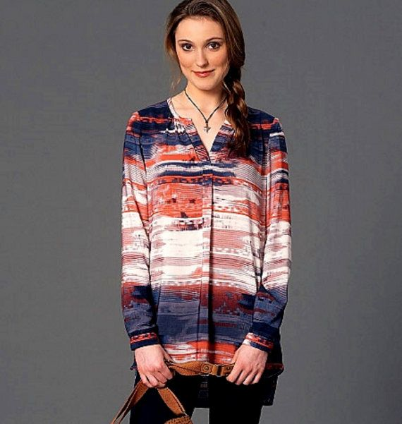 Loose-Fitting Pullover Tops Pattern McCall's Sewing by blue510
