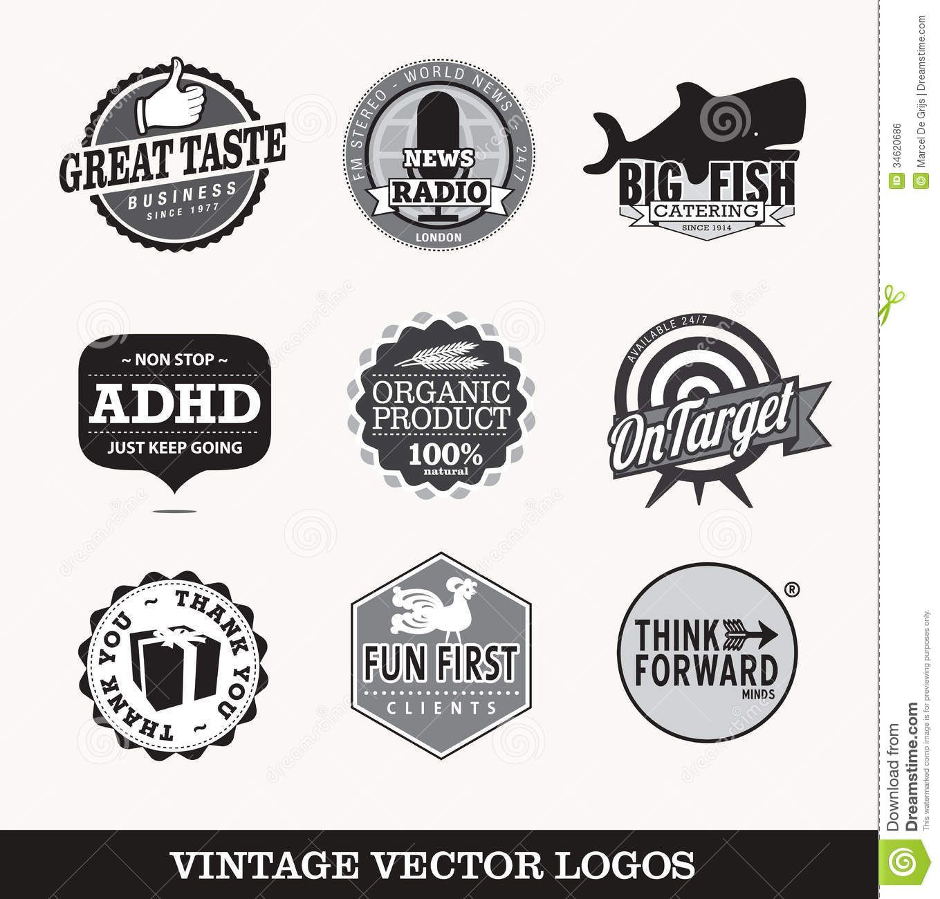 Pin By Jennifer Tran On Graphic Design Ideas Vintage Logo Design Vintage Logo Vector Logo