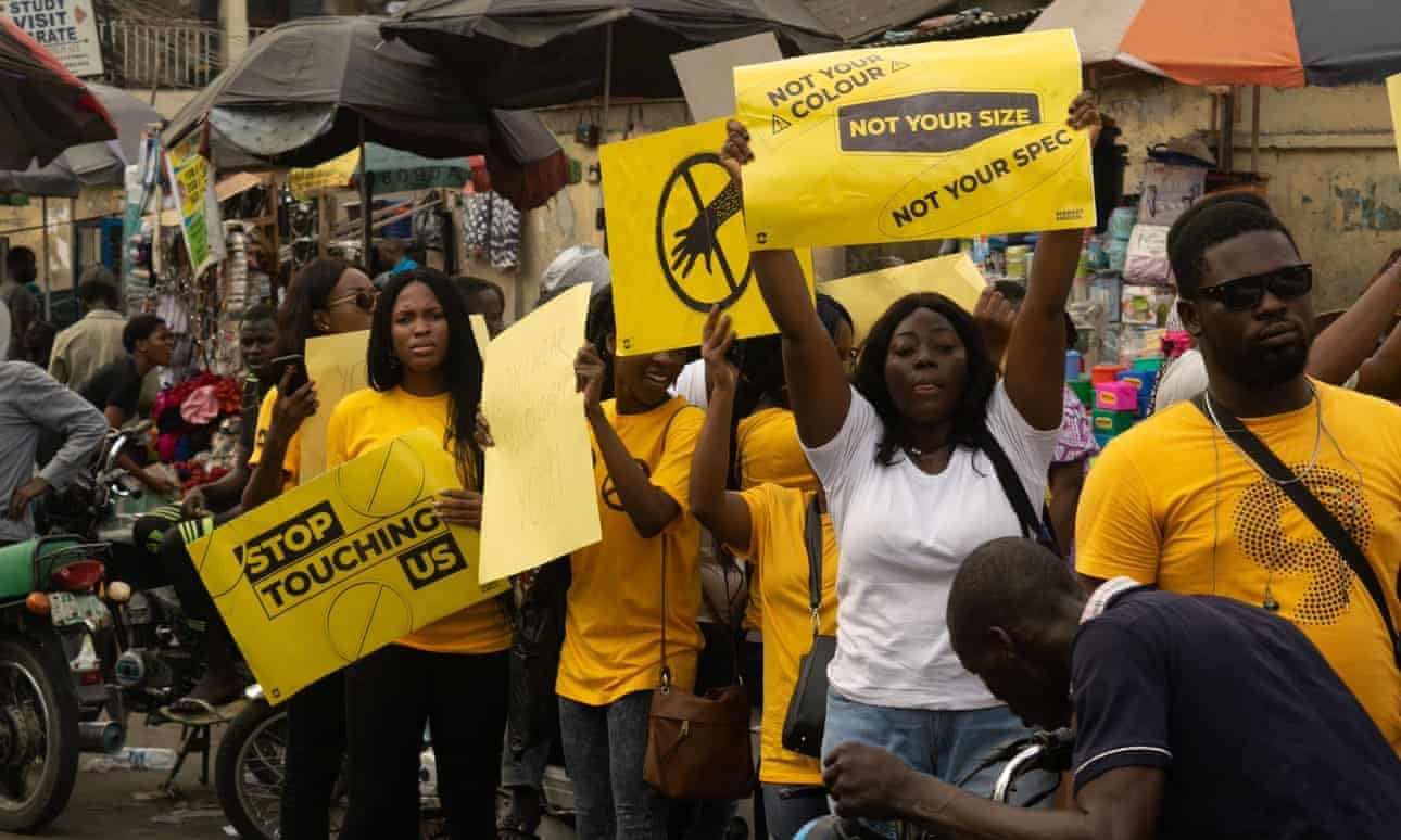 Normalised But Not Normal Nigerian Women Call Out Gropers And Catcallers Women Say Her Name Yellow T Shirt