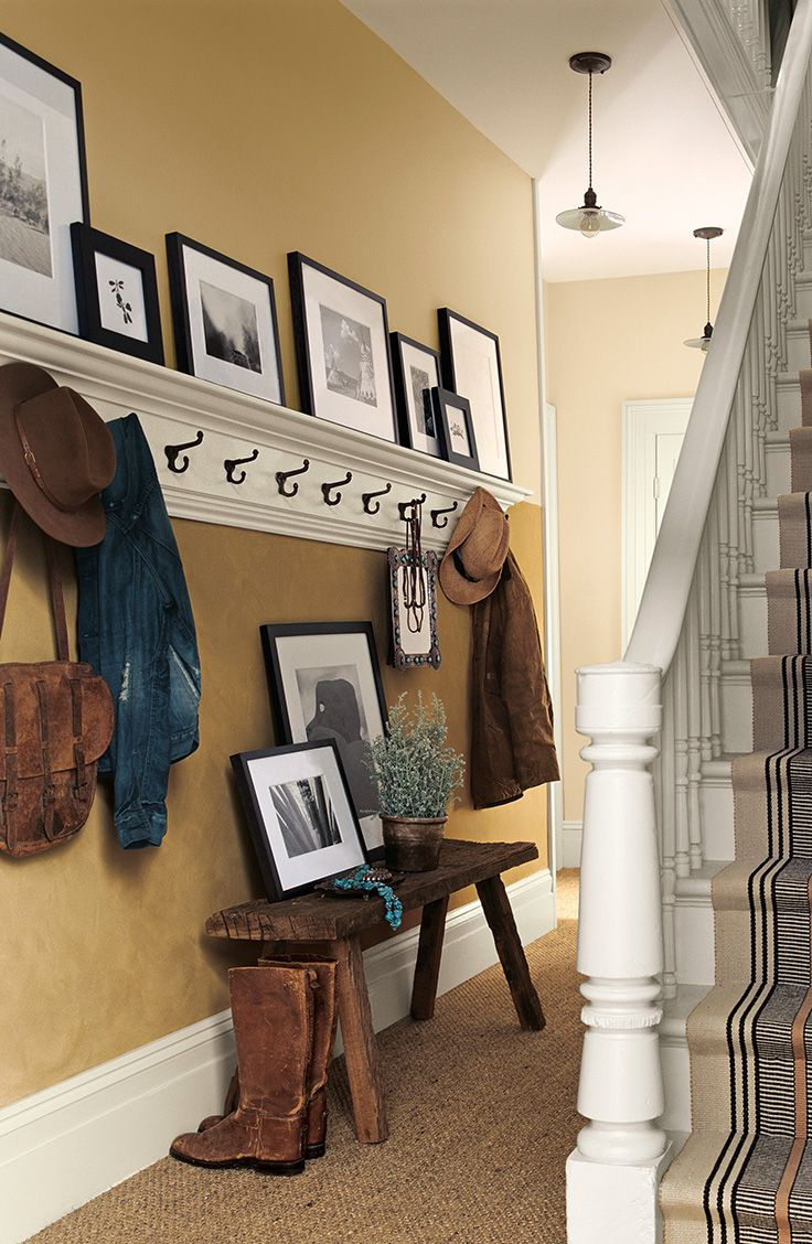 hall entry The Suede Specialty Finish from Ralph Lauren Paint adds ...