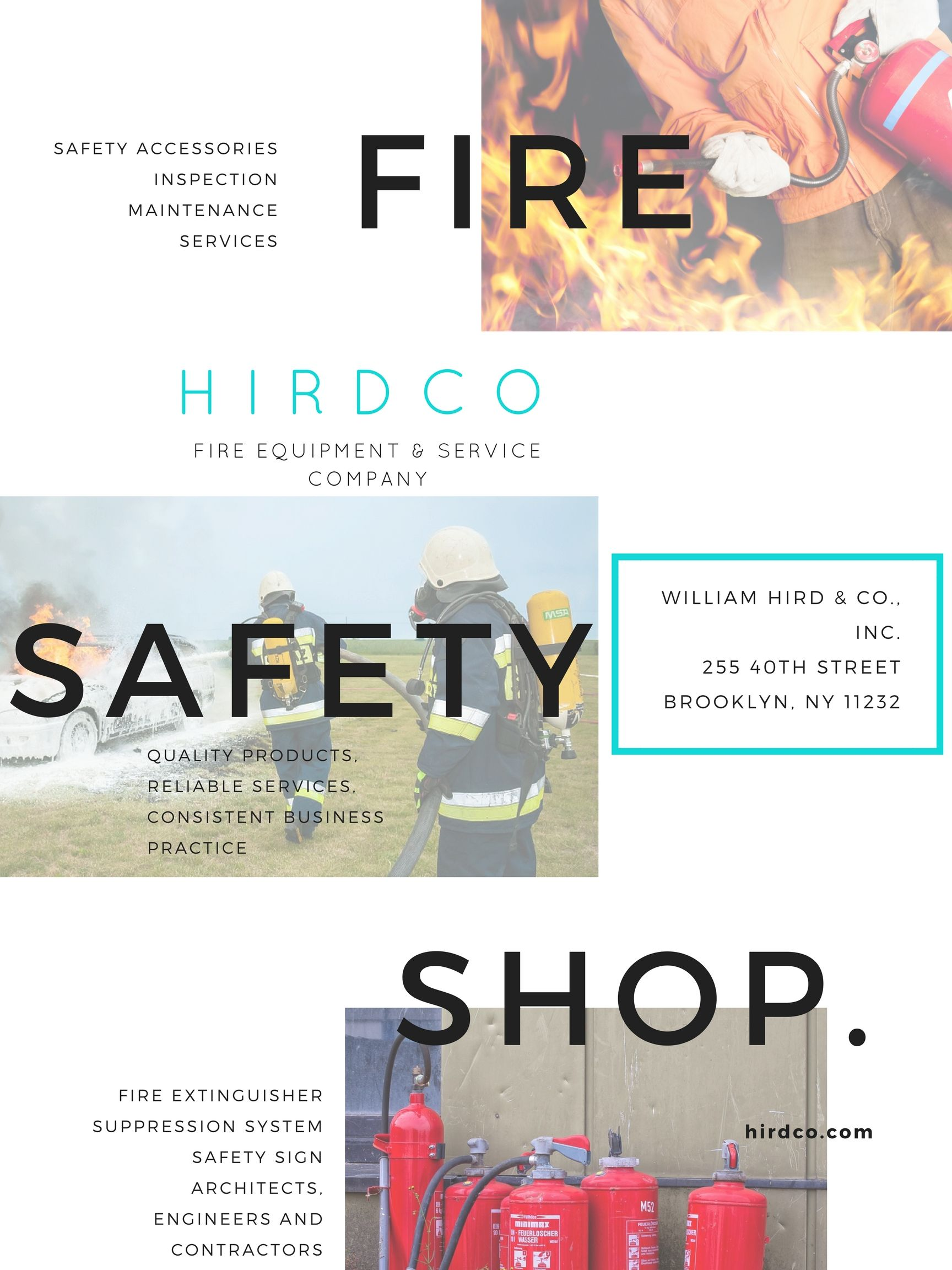 Contact us William Hird & Co. Fire safety tips, Fire