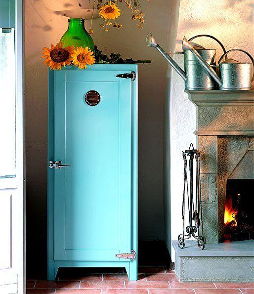 Vintage Fridge, Vintage Refrigerator, Retro Fridge