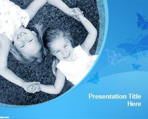Sisters powerpoint template free download for family powerpoint sisters powerpoint template free download for family powerpoint presentations or presentations on childhood friends and child toneelgroepblik Choice Image