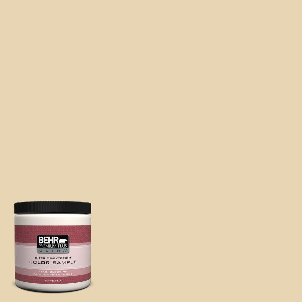 BEHR Premium Plus Ultra 8 oz. #UL180-18 Yellowstone Interior/Exterior Paint Sample