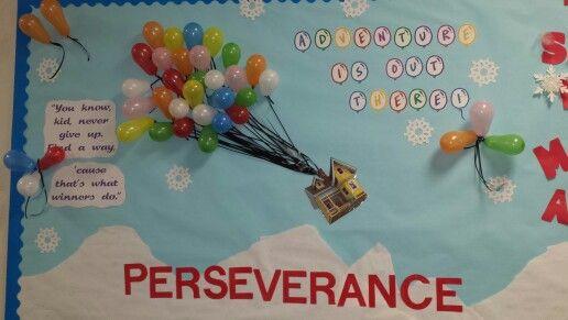 Classroom Notice Board Ideas ~ Perseverance bulletin board moral focus ideas