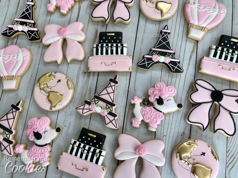 Travel Themed Cookies Cookie Inspiration Pinterest Cookies