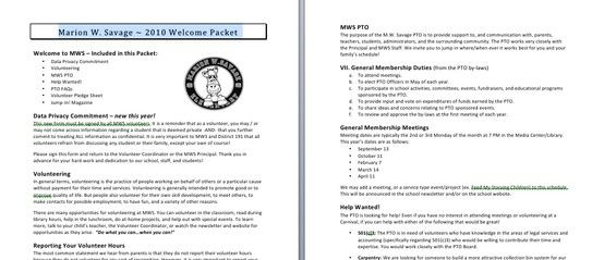 Sample Welcome Packet Letter To Greet Parents  Summer Projects