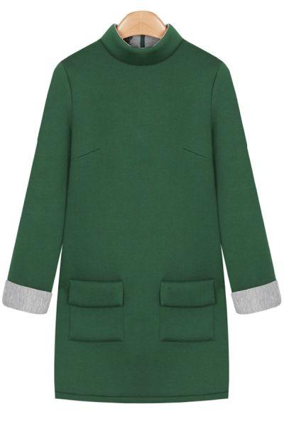 7200e78d1e0 3/4 Sleeve Tunic Dress | Women's Fashion--Dresses | Pinterest ...
