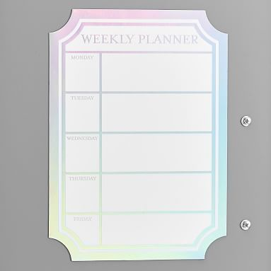 Iridescent Dry Erase Calendar Locker Decal Pbteen Dry
