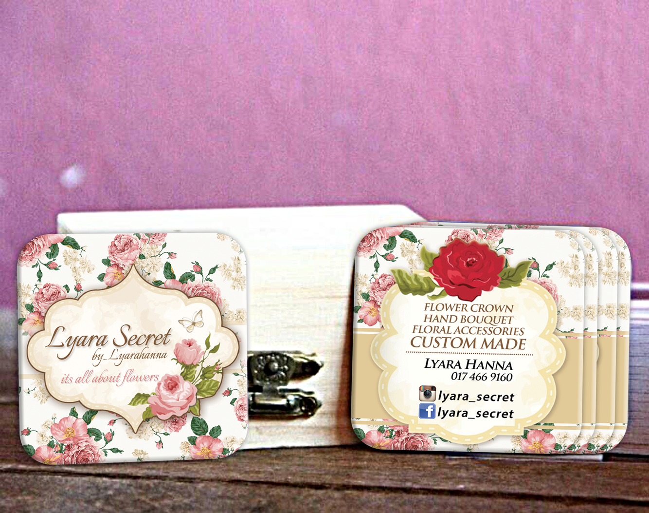 Custom size business card for lyarahanna flower crown custom size business card for lyarahanna flower crown colourmoves