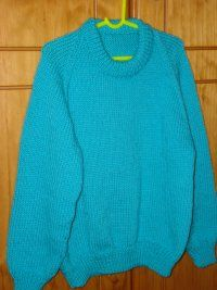 Simple Childs Raglan 8 Ply Round Neck Jumper Pattern ...