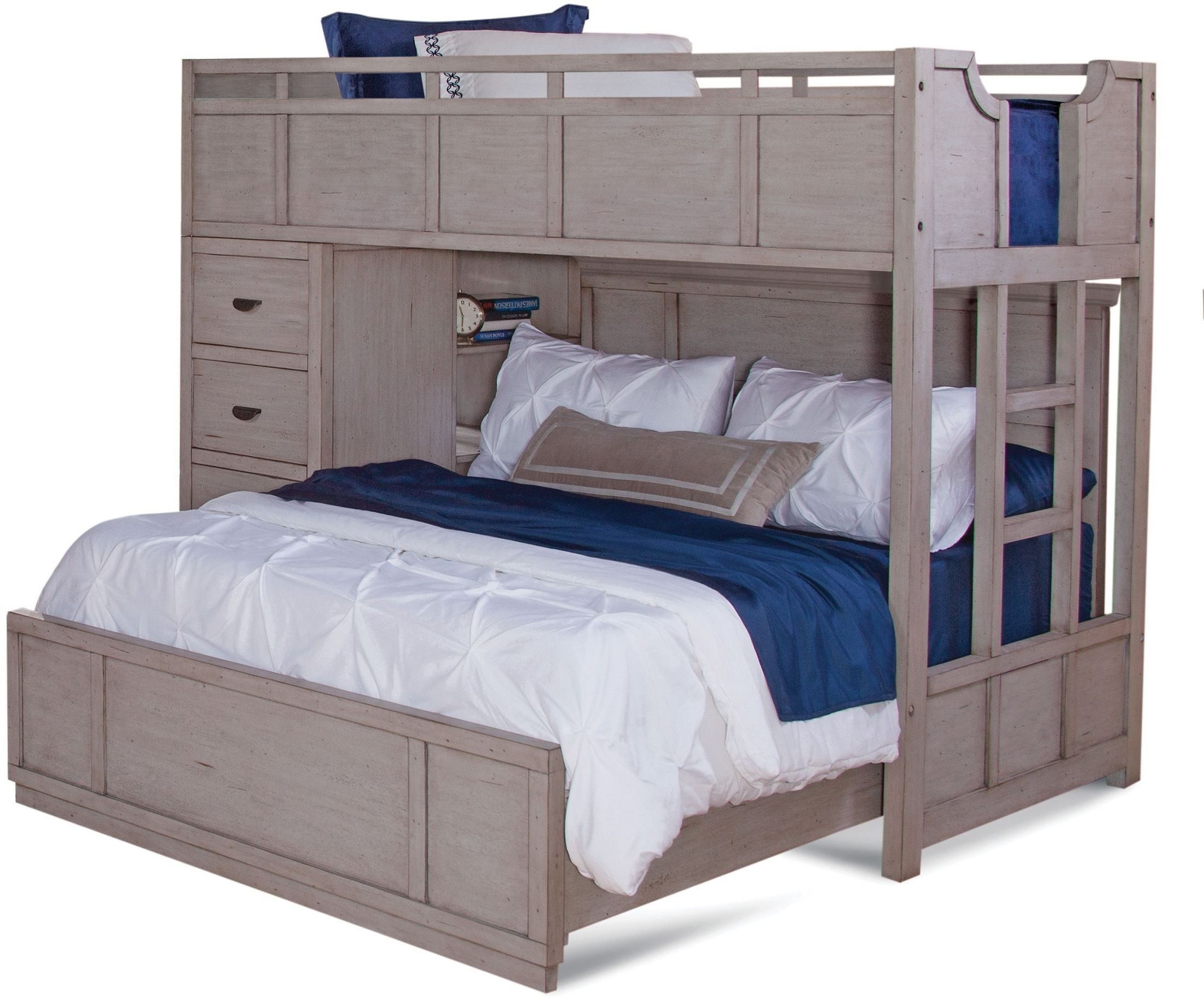 Provo Driftwood Patina Loft Bedroom Set In 2019 Beds