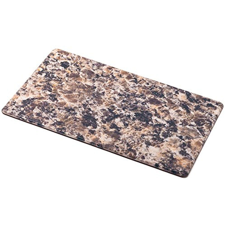 Hemingweigh Premium Anti Fatigue Designer Comfort Kitchen Floor Mat 30 X 17 1 2 Thick Ergo Foam Core For Health And Wellbei Kitchen Mats Floor Foam Core Foam