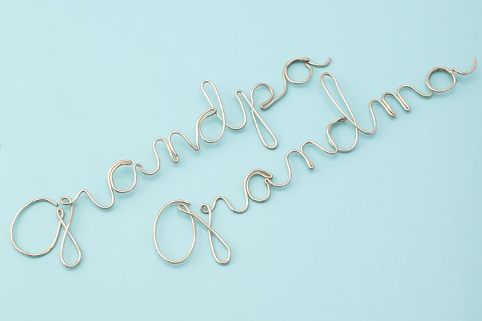 Wire Craft - Wrapping Wire to Make any Word or Name - | Wire ...