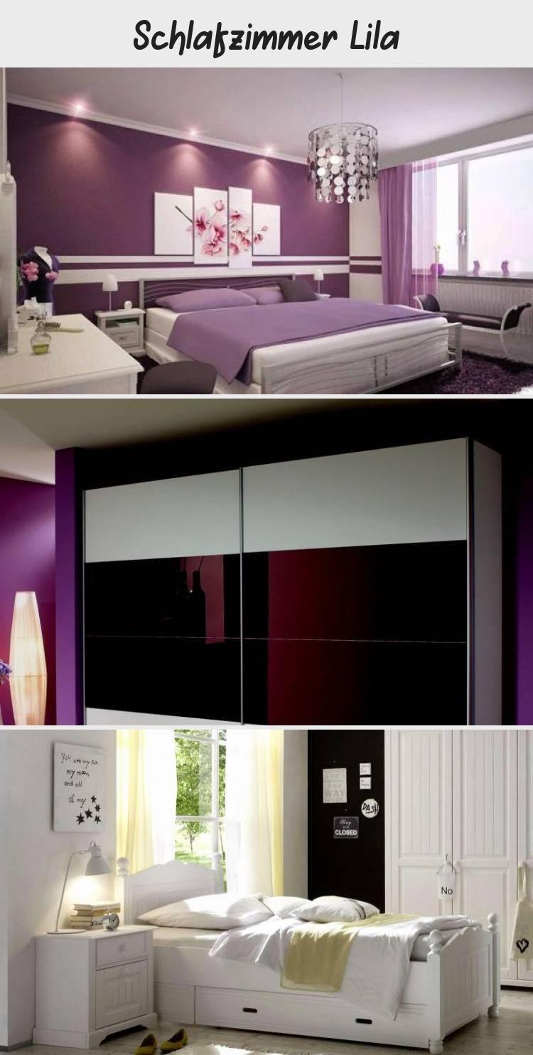 wandtattoo jugendzimmer madchen elegant schlafzimmer schwarz lila ...