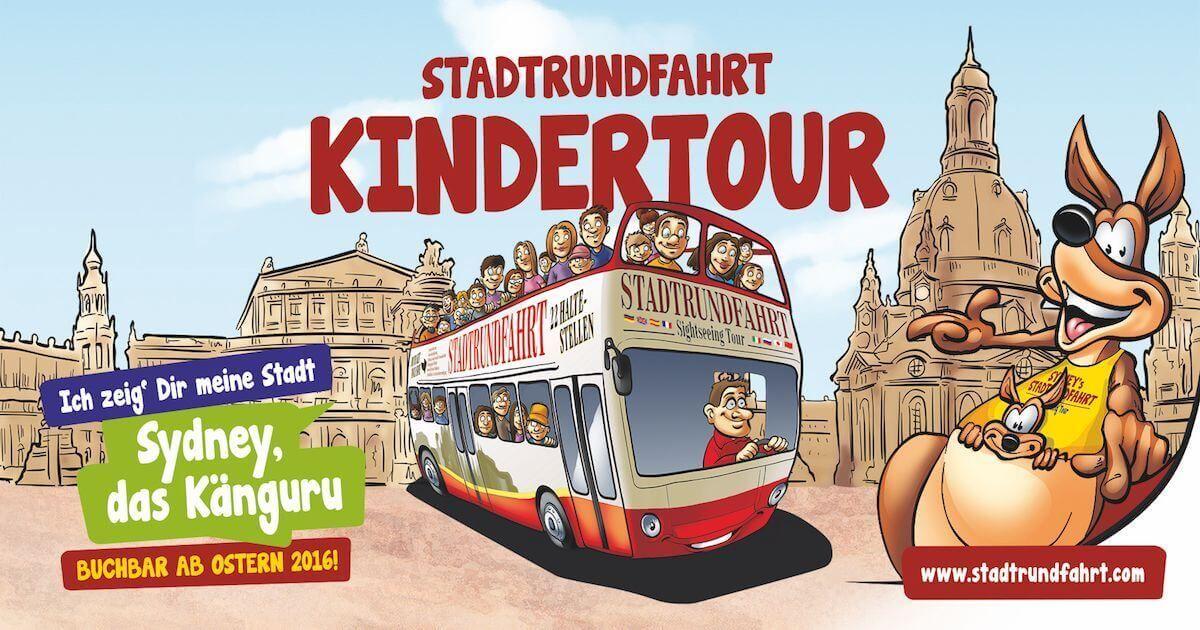 Dresden mit Kindern entdecken - Die Kinderstadtrundfahrt