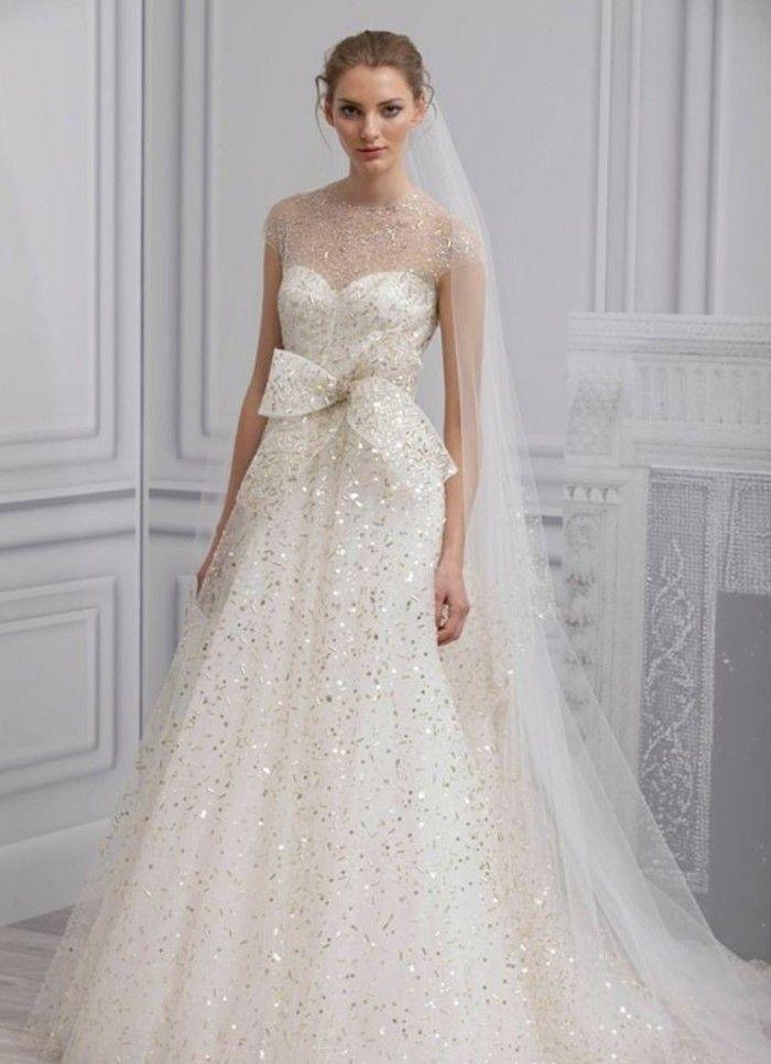 100 einzigartige Modelle Champagne Brautkleider! | Pinterest ...