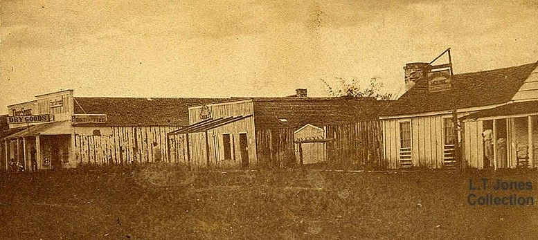 The Small North Texas Town Of Jacksboro Shown Here In 1866 Was